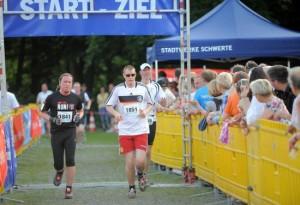 Zwei 10 km- Läufer aus Schwerte