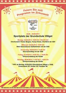 Zirkusprojekt Grundschule Villigst