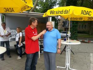 Interview Jörg mit Bürgermeister Jenz Rother (Holzwickede)