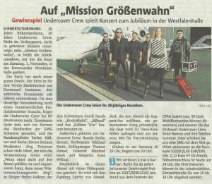 Ruhr Nachrichten v. 28.10.2014 mit Kartenverlosung