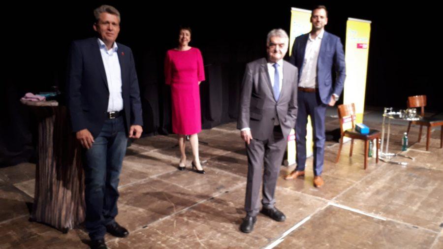 Unterwegs in Sachen Sicherheit mit dem Innenminister des Landes NRW